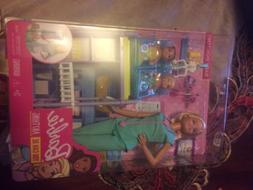 New Barbie Careers Baby Doctor Doll Play set + babies