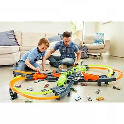 New Hot Wheels Colossal Crash Track Set Toy Gift