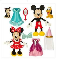 New Disney Deluxe 9 Piece Fashion Play Set Minnie Mouse