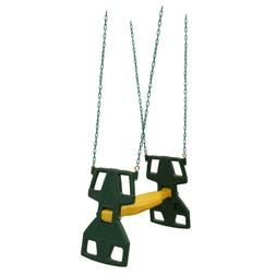 NEW Dual Ride Glider Swing Assembly for Outdoor Play Set Kid