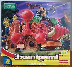 NEW Fisher Price imaginext Attack Wagon Play Set 78437 Boys