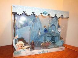 New Disney Store Frozen Elsa Musical & Lights Up Ice Castle