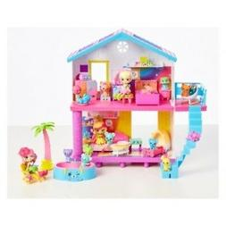NEW Shopkins Happy Places Rainbow Beach House Playset - Mult