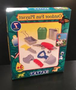 NEW in box BATTAT 1998 Outdoor Fun Playset for Camping cante