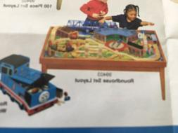 NEW IN BOX LEARNING CURVE THOMAS BRIO TRAIN DOLLHOUSE WOODED