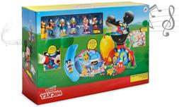 NEW Disney Junior Mickey Mouse Clubhouse Deluxe Playset Ligh