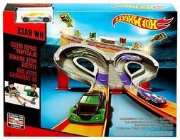 NEW Kids Multiplayer Hot Wheels Super Speed Blastway Cars Tr