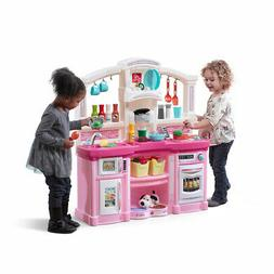 New Kids Pretend Play Kitchen Pink Playhouse  Play set Large