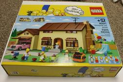 NEW, SEALED -- LEGO The Simpsons House Play Set  -- Free Shi