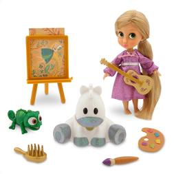 NEW Disney Store Animators' Collection Rapunzel Mini Doll Pl