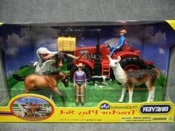 Breyer NEW * Tractor Play Set * 5410 Bull Llama Appaloosa St