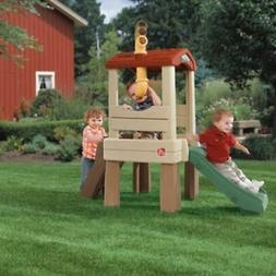 NEW Treehouse for Toddlers Kids Outdoor Playset Safe Climb C
