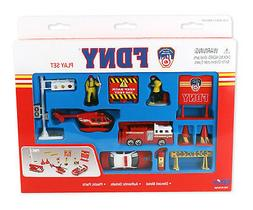 New York Fire Department  Play Set 13 Pieces