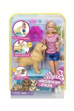 newborn pups doll pets playset blonde