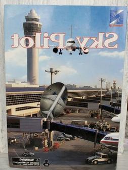 Newray Sky Pilot Airport Set United Airlines Playset 7335 Ne