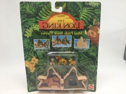 NIP 1992 Disney Mattel Lion King Mini Pride Rock Playset 663