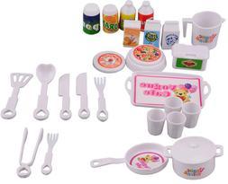 NK 25 Pcs/<font><b>Set</b></font> Doll Accessories DIY <font