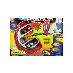 OA740 Super Cyclone Car Flyer Set with 2 Racers Ages 3+