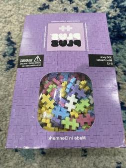PLUS PLUS - Open Play Set - 300 Piece - Pastel Color Mix, Co