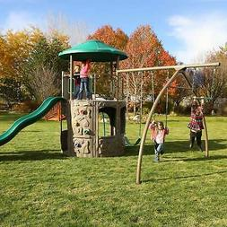 Outdoor Backyard Discovery Playground Swing Set Playset Kids
