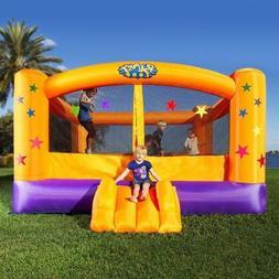 Outdoor Inflatable Bounce House Kids Backyard Moon Bouncer P
