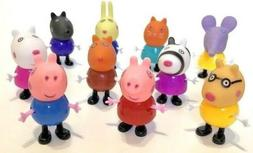 PEPPA PIG FRIENDS MINI FIGURE PACK PLAYSET CAKE TOPPERS DECO