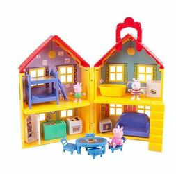 Peppa Pig Peppa's Deluxe House Playset Educational Toy for K