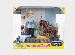 Breyer 62029 Classics Pet Groomer Doll & Animals Set , Multi