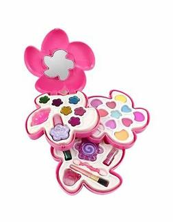 Liberty Imports Petite Girls Cosmetics Play Set | Washable &