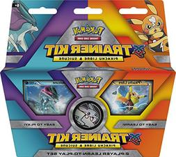 Pokemon Pikachu Libre and Suicune Trainer Kit Trading Card G