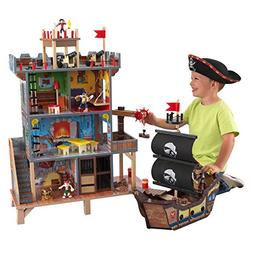 KidKraft 63284 Pirates Cove Play Set Toy, Brown