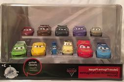 "Disney Store PIXAR ""Cars 3' Deluxe Figurine PVC Figure Plays"