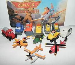 Disney Planes Fire and Rescue Movie Figure Set of 12 with Du