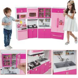 Plastic Kitchenware Toy Toddler  Playset Kids Cooking Preten