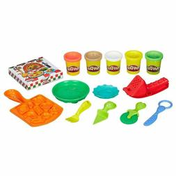 Play Doh Breakfast Pizza Playdough Toys Kids Cook Set Craft