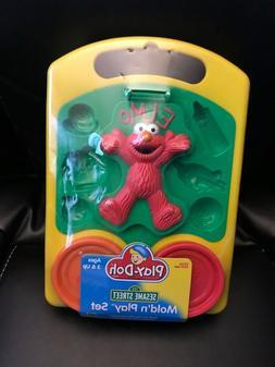 Hasbro Play-Doh Elmo Sesame Street Mold'n Play Set from 2000