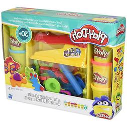 Play-Doh Fun Factory Deluxe Modeling Compound Play Set Kids