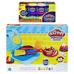 Play Doh Kitchen Creation Breakfast Bakery + Play-Doh Plus C