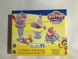 Play-Doh Kitchen Creations Ice Cream Scoops 'n Sundaes Set K