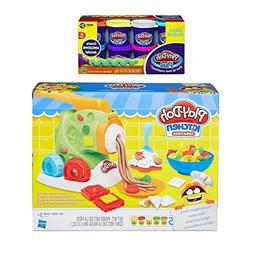 Play-Doh Kitchen Creations Noodle Makin' Mania + Play Doh Pl