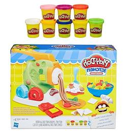 Play-Doh Kitchen Creations Noodle Makin' Mania + Play-Doh Ra