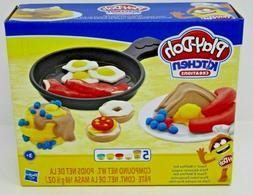 Play Doh Kitchen Creations Toast & Waffles 14 Piece Set Brea