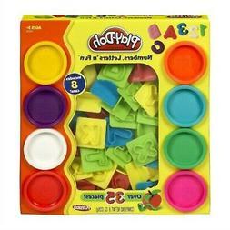 Play-Doh Numbers Letters N Fun Art Multi Kids Toddler Games