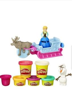 Play Doh Play Set Disney Frozen Princess Anna Olaf Sven Sled