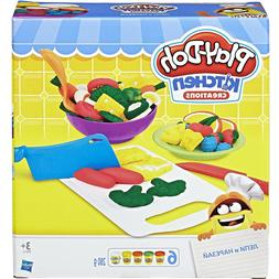 play doh shape n slice set playset