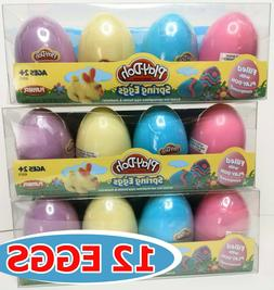 Play-Doh Spring Eggs 4-Pack Gift Set Bundle - 3 Pack - FREE