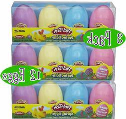 Play-Doh Spring Eggs Gift Set Bundle  - 3 Pack, Multicolor
