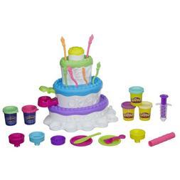 Play-Doh Sweet Shoppe Cake Clay Dough Mountain Playset - REC