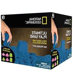 Play Sand 6 LBS of Sand with Castle Molds National Geographi