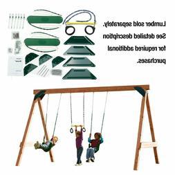 Play Set Hardware Kit Playground Outdoor Swing Seats Set Bac
